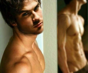 bed, damon, and diaries image