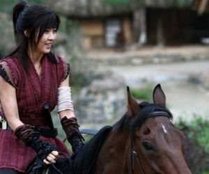 historical, horse, and kdrama image