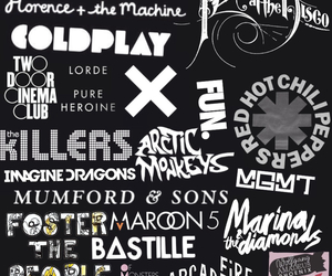 band, bastille, and indie image