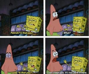 patrick, funny, and spongebob image