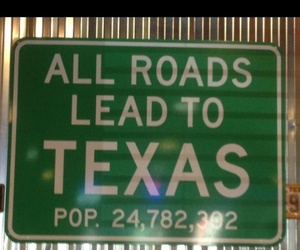 texas. sign image
