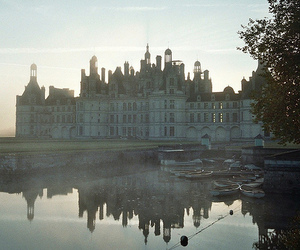 architecture, castle, and reflection image