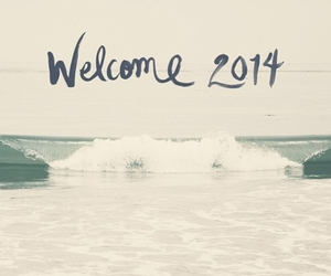 2014, welcome, and new year image