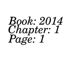 book, new year, and 2014 image