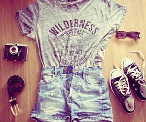 cool, girly, and wilderness image