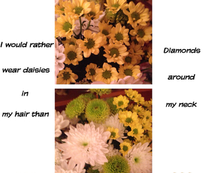 diamonds, hipster, and flowers image