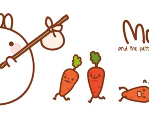 carrots, cute, and kiwaii image