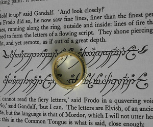 lord of the rings and ring image
