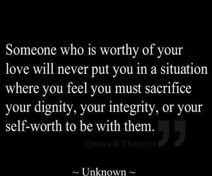 always, integrity, and self worth image