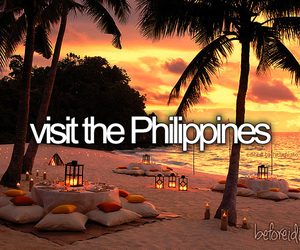 Philippines, before i die, and travel image