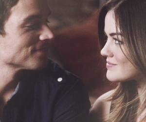 lucy hale, pretty little liars, and ezria image