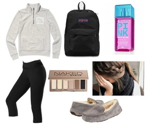 backpack, Lazy, and leggings image