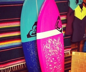 summer, surf, and beautiful image