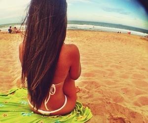 beach, bikini, and picture image