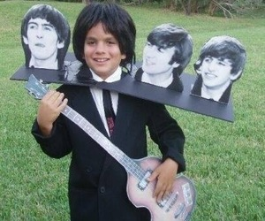 george harrison, Halloween, and ringo starr image