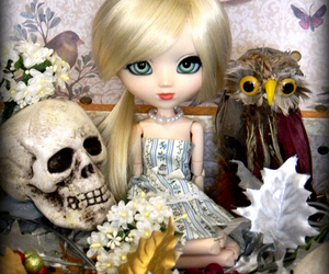 bjd, dolly, and spooky image