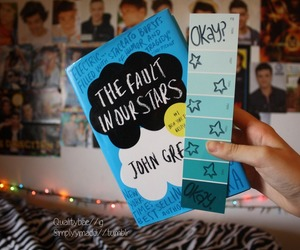 book, okay, and the fault in our stars image
