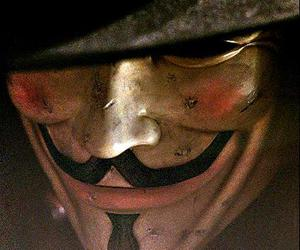 mask, v, and v for vendetta image