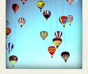 balloons, colorful, and picture image