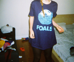 foals, girl, and indie image