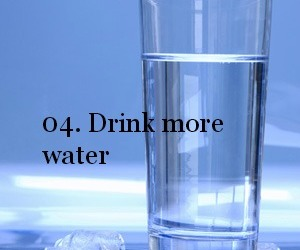 drink, new year, and water image