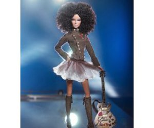 Afro, barbie, and dol image
