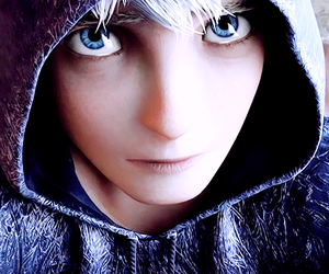 jack frost, rise of the guardians, and rotg image