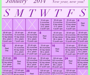 motivation, schedule, and workout image