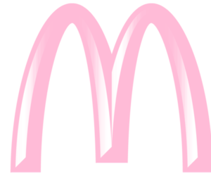 McDonalds and pink image