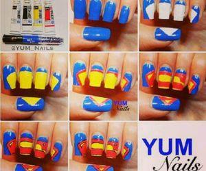 nails, superman, and diy image