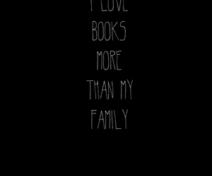 books, family, and love image