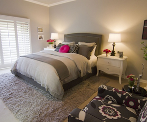 bed, bedroom, and love it image