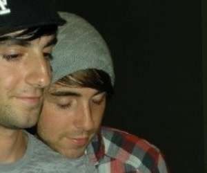 alex gaskarth, all time low, and jalex image