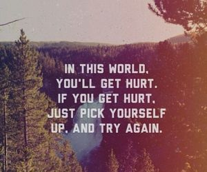 hurt, quote, and try again image