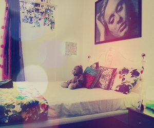 Adele, bedroom, and bed image