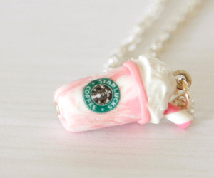 pink, starbucks, and cute image