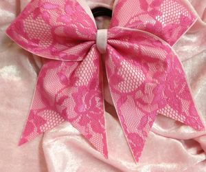 bow, cheer, and lace image