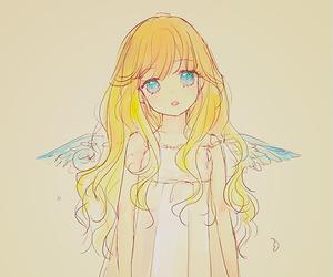 angel, anime girl, and kawaii image