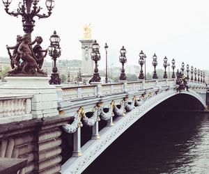 bridge and paris image