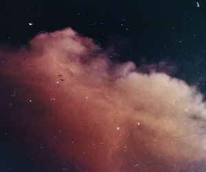 sky, clouds, and vintage image