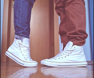 love, converse, and boyfriend image
