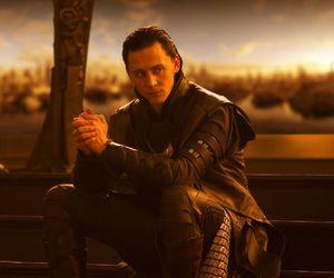 loki, thor, and tom hiddleston image