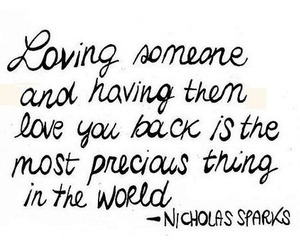 love, nicholas sparks, and quote image