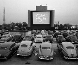 car, vintage, and cinema image