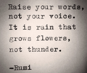 flowers, rain, and voice image