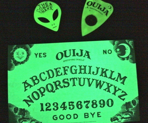 alien, ouija, and green image