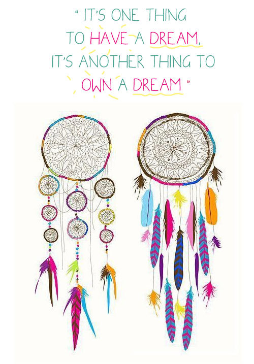 Image About Quote In Hippie Maian Brog On We Heart Jpg 500x717 Dream Catcher Birthday Quotes