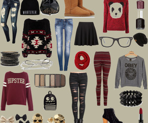 clothes, uggs, and Polyvore image