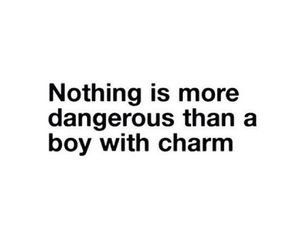 quote, boy, and charm image