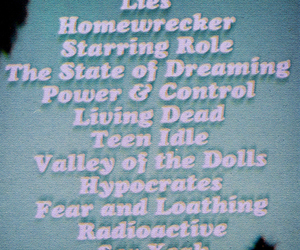 cd, living dead, and soft grunge image